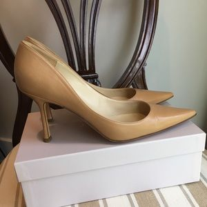 Auth Jimmy Choo Camel Pumps Heels